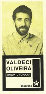 Material de Candidato a Dep. Federal 1994