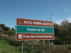 Placa Rosário do Sul