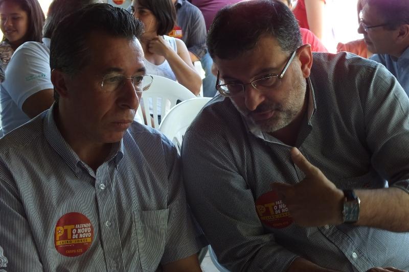 Apoiando o companheiro Jairo Jorge
