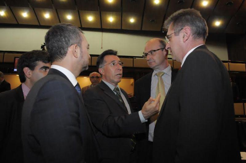 Apoio dos deputados para aprovação do projeto da EGR