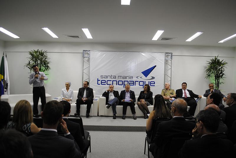 Deputado Valdeci lembrou do início das discussões sobre o Tecnoparque na sua época de prefeito de Santa Maria