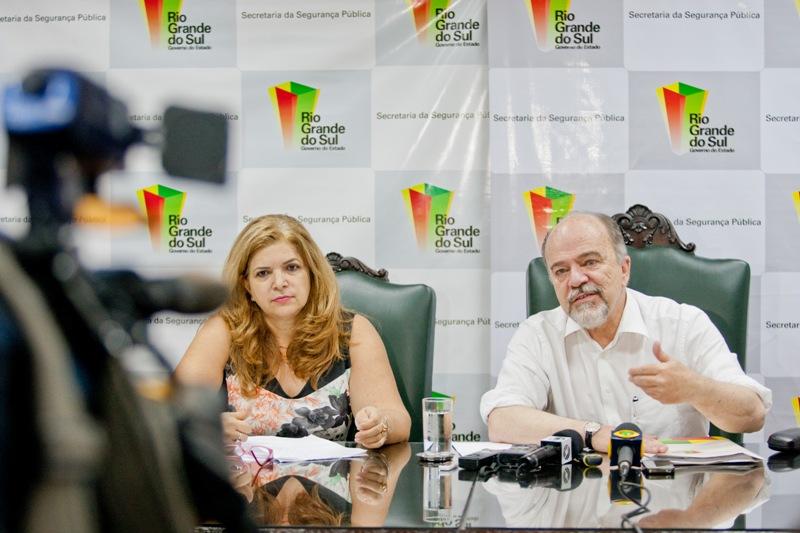 Anúncio foi feito pelo secretário estadual de Segurança Pública, Airton Micheles, e pela secretária interina de Políticas para Mulheres, Ana Félix.