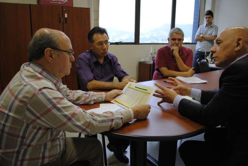 Reunidos para a implantação do Policiamento Comunitário na cidade