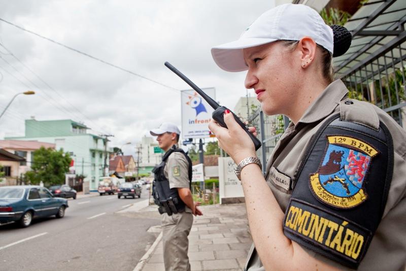 Polícia Comunitária no município de Caxias do Sul