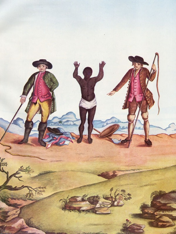 Escravo desenho  de Carlos Juliao