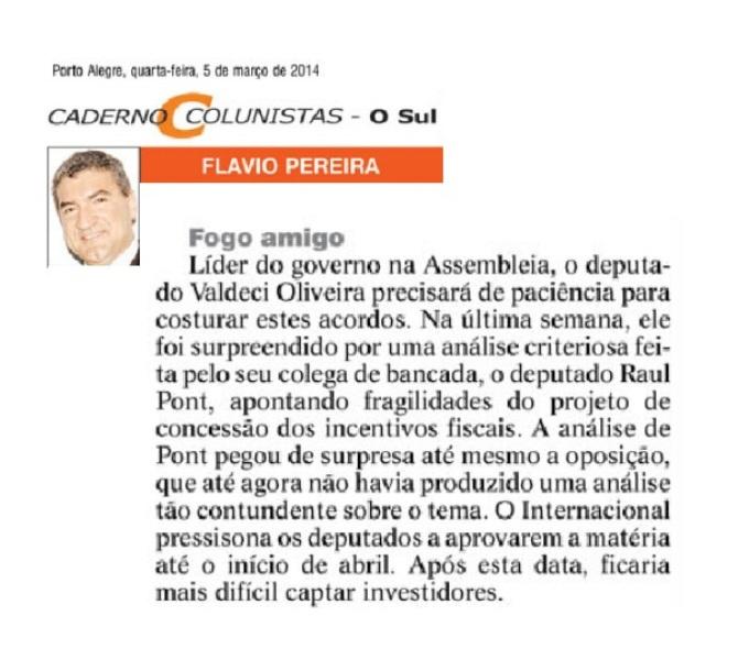 05.03 O Sul_Flavio Pereira