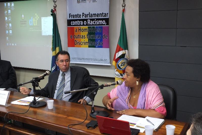Valdeci é o coordenador da Frente Parlamentar contra a Discriminação na Assembleia Legislativa
