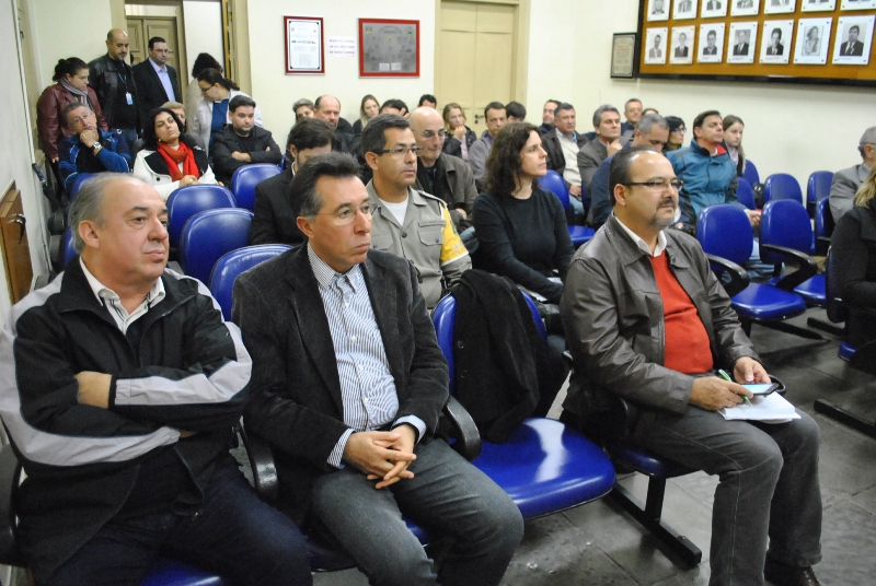 Valdeci participou do lançamento da comissão