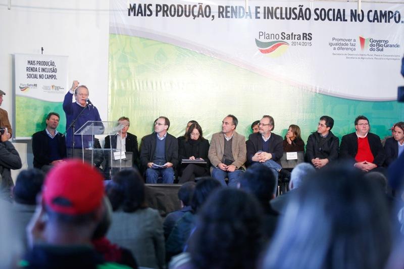 Lançamento da nova edição do Plano Safra RS ocorreu em Canguçu