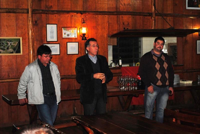 Reunião com petistas de Minas do Leão