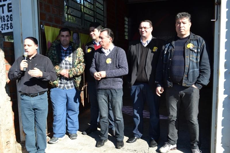 Inauguração do comitê da Tancredo Neves