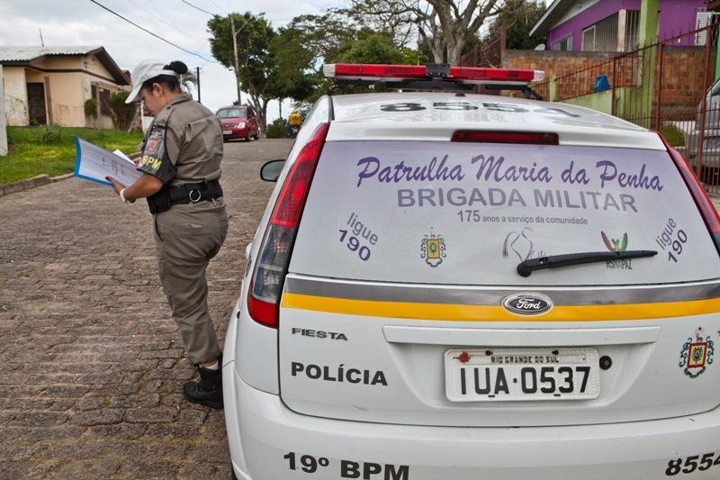 Patrulha Maria da Penha é um dos programas que fortalece combate à violência contra a mulher no RS