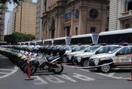 Cidades gaúchas recebem 88 novas viaturas policiais