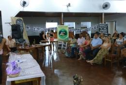 Palestra ocorreu no Clube Vicentino, em São Vicente do Sul