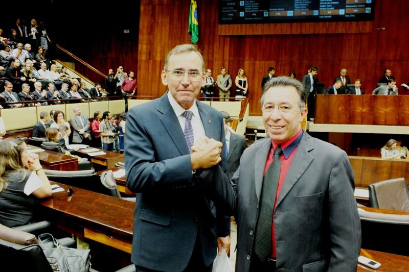 Valdeci é presidente e Tarcísio é vice da comissão.