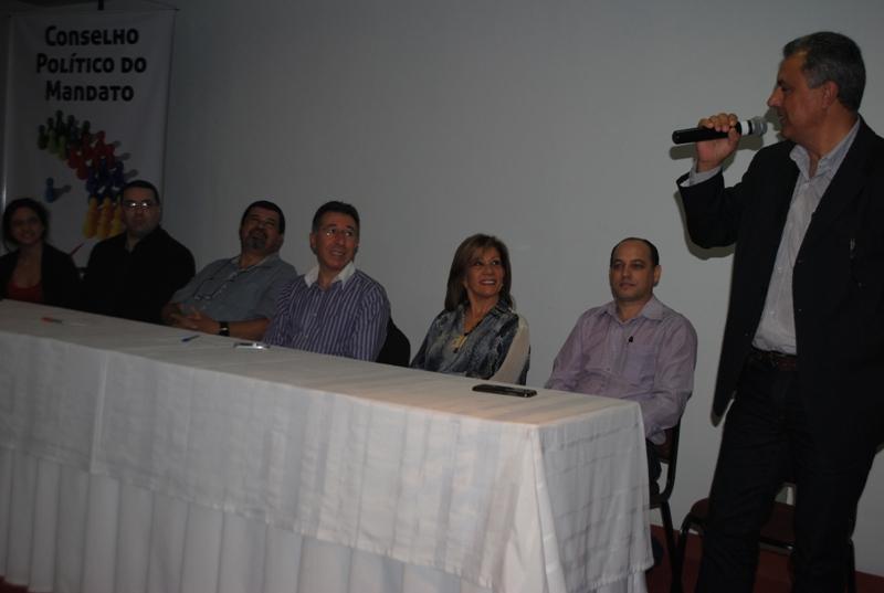 Conselho Político conta com prefeitos, secretários municipais, vereadores e lideranças sociais, comunitárias e sindicais