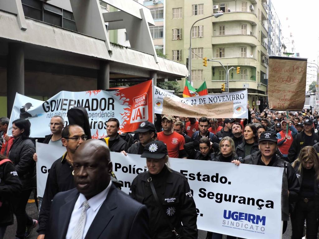 Protesto tomou conta das ruas da capital no último dia 7 de julho