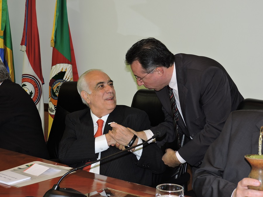 Valdeci com o ministro dos Transportes, Antônio Rodrigues.