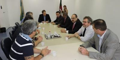 Reunião contou com a presença de lideranças da Região Carbonífera